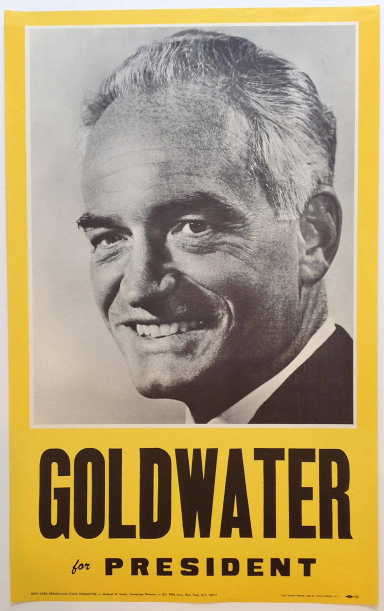 Poster #10 –  Goldwater for President