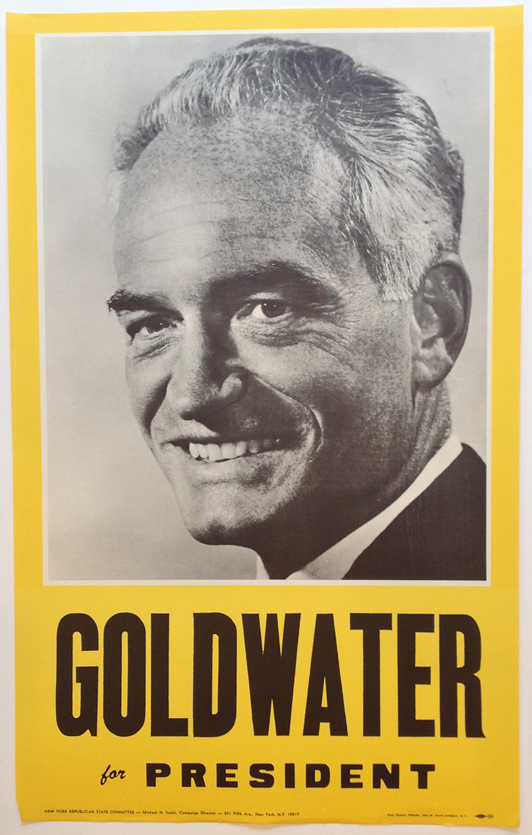 Poster #14 –  Goldwater for President