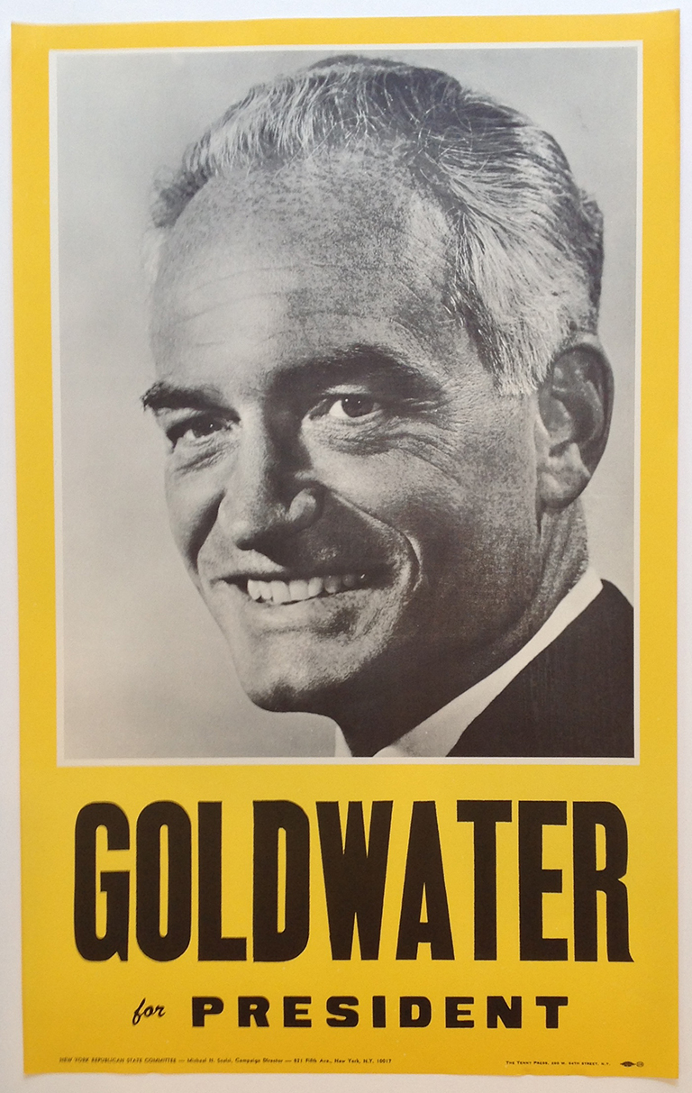 Poster #16 –  Goldwater for President