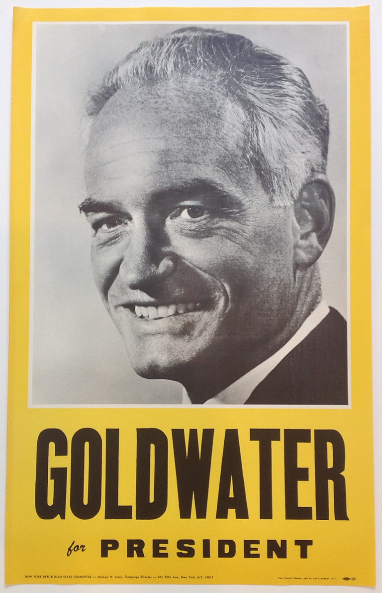 Poster #17 –  Goldwater for President