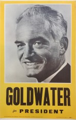 Poster #21 –  Goldwater for President