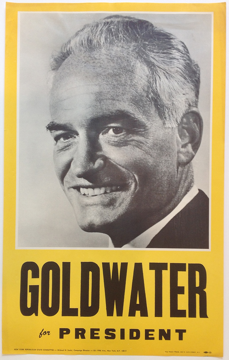Poster #22 –  Goldwater for President