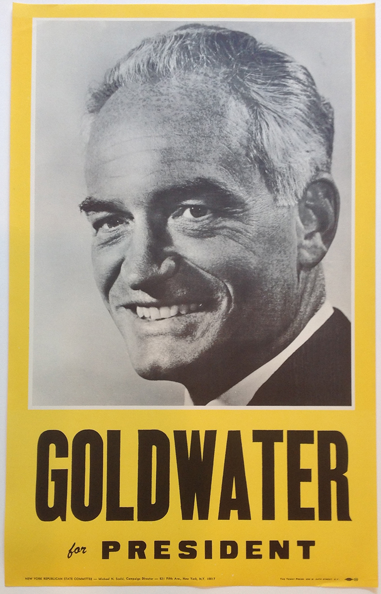 Poster #24 –  Goldwater for President