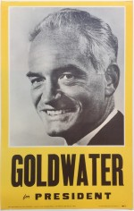 Poster #25 –  Goldwater for President