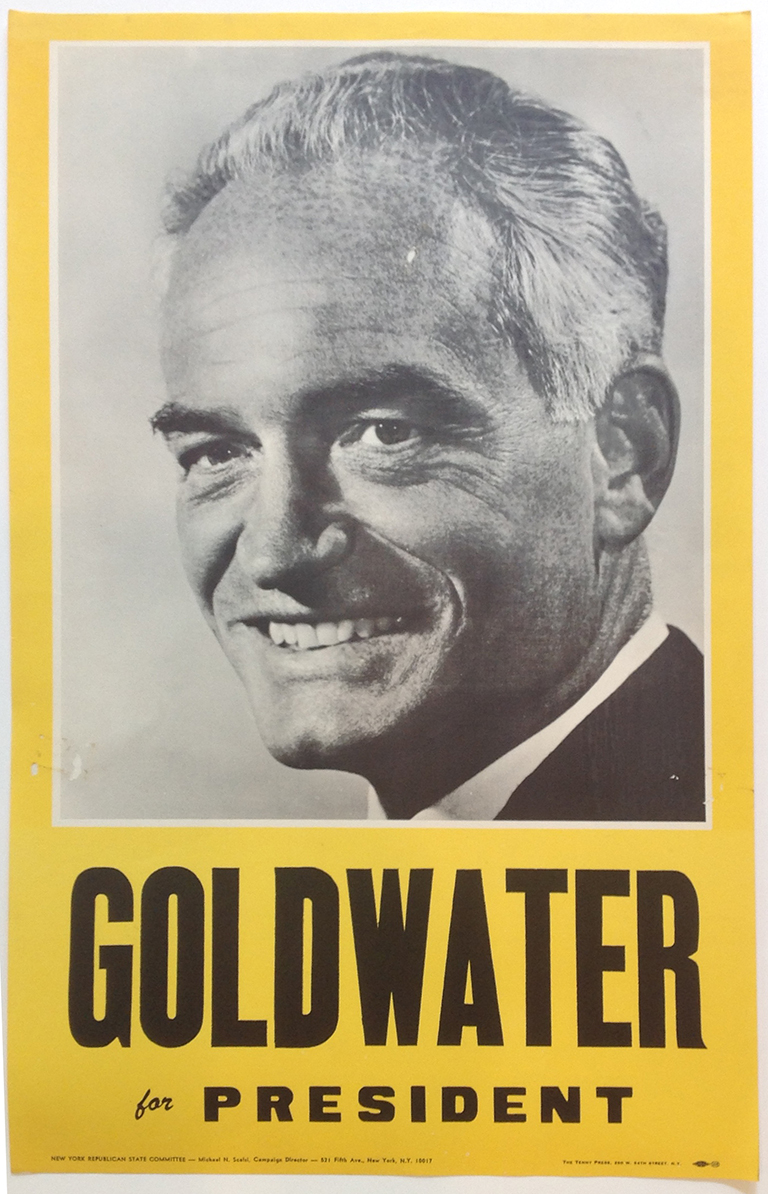 Poster #26 –  Goldwater for President