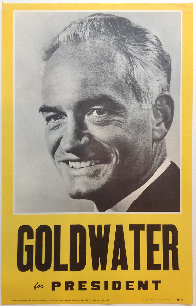 Poster #27 –  Goldwater for President