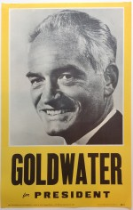 Poster #28 –  Goldwater for President
