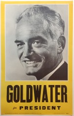 Poster #29 –  Goldwater for President