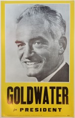 Poster #3 –  Goldwater for President