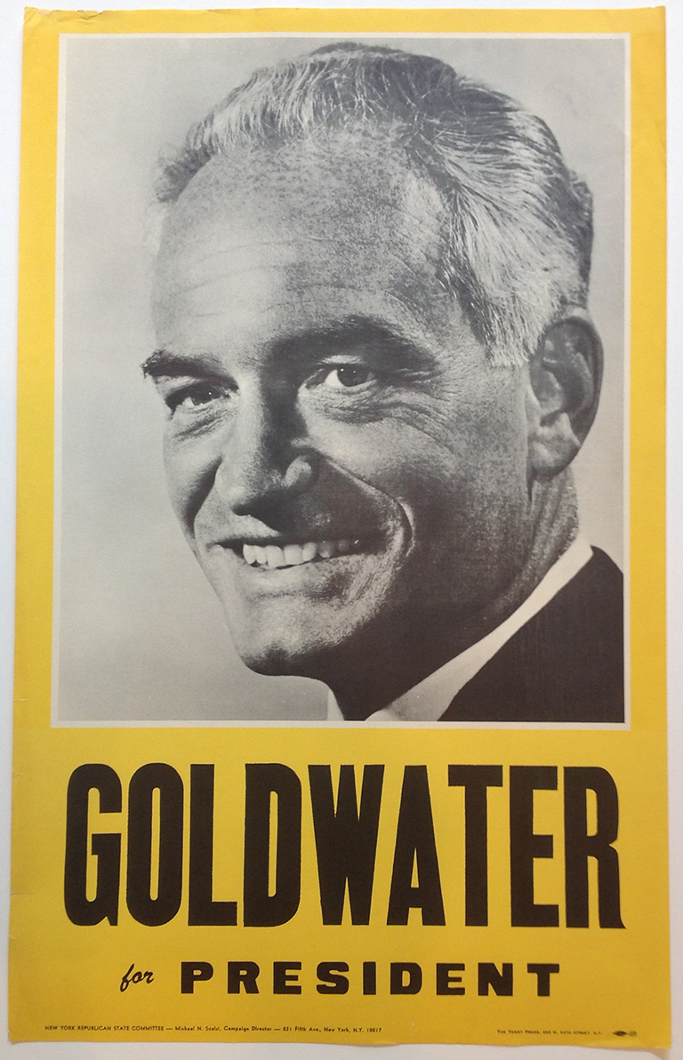 Poster #30 –  Goldwater for President