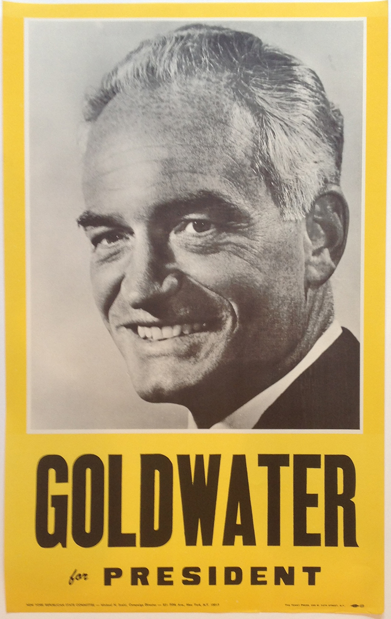 Poster #34 –  Goldwater for President