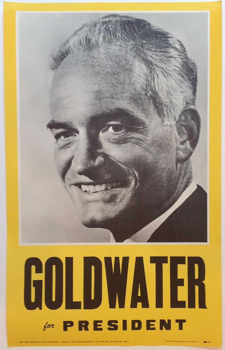 Poster #35 –  Goldwater for President
