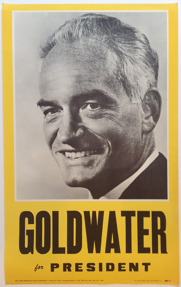 Poster #36 –  Goldwater for President