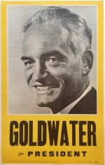 Poster #39 –  Goldwater for President