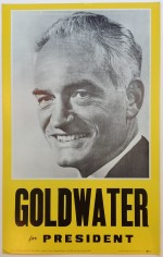 Poster #4 –  Goldwater for President