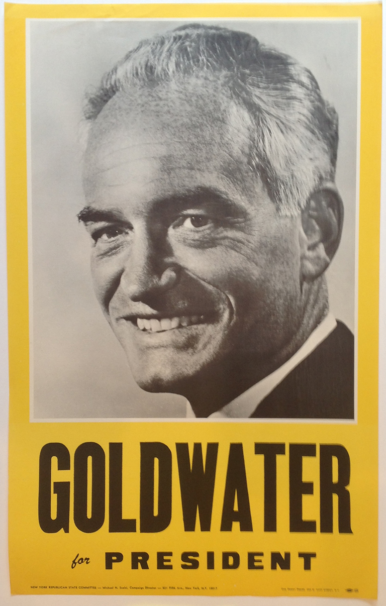 Poster #40 –  Goldwater for President