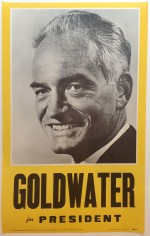 Poster #43 –  Goldwater for President