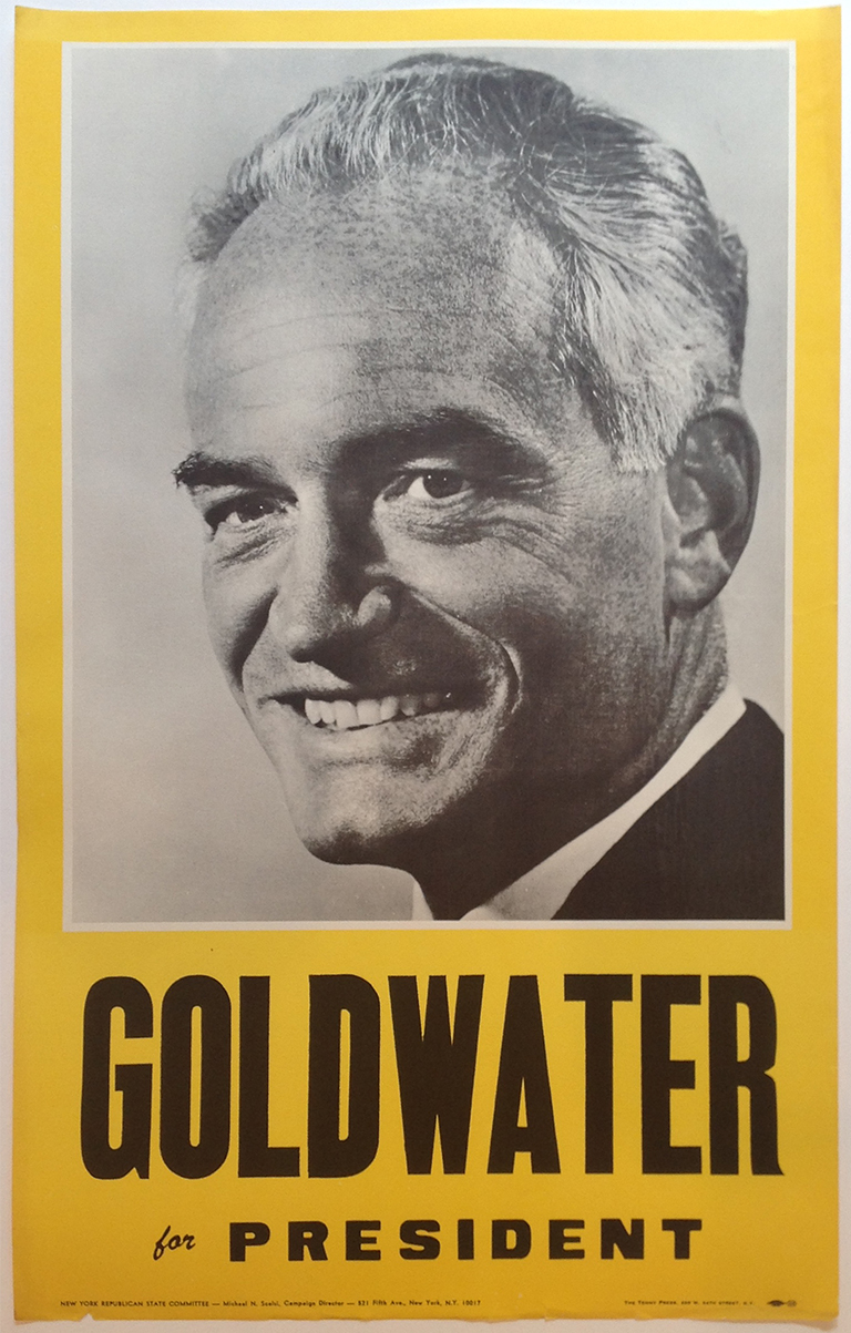 Poster #46 –  Goldwater for President