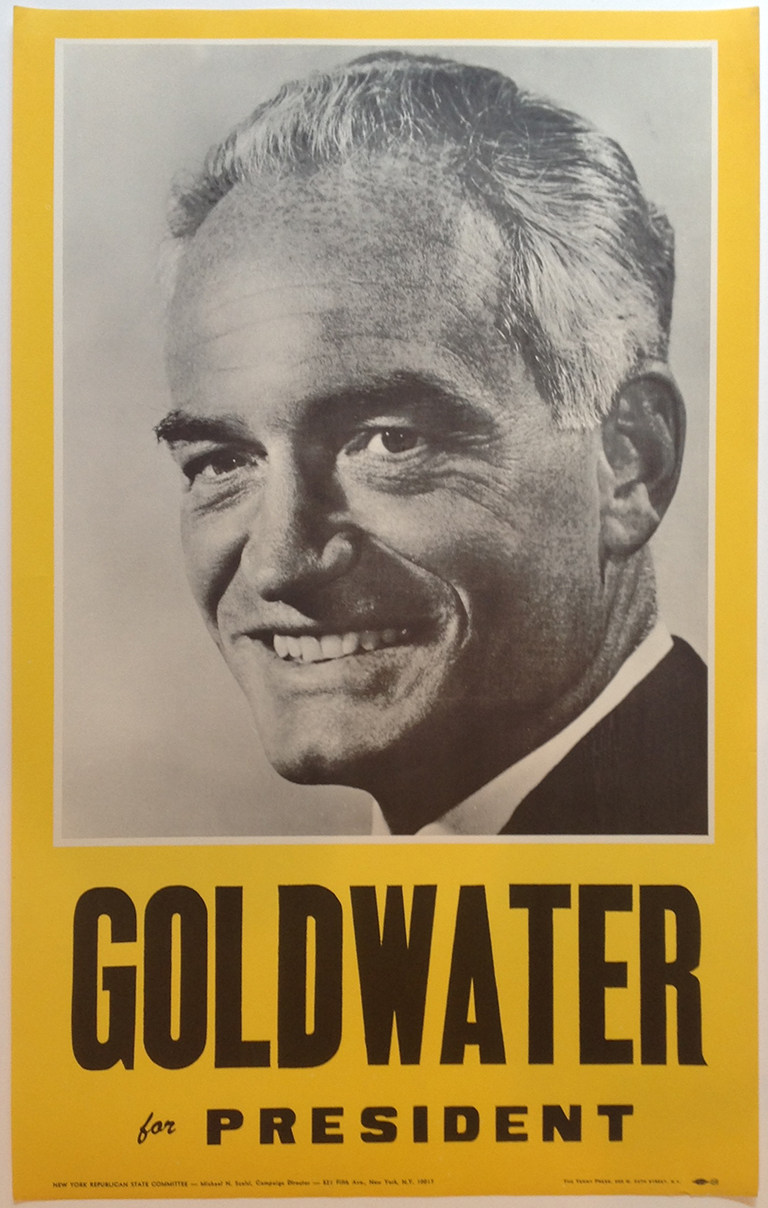 Poster #48 –  Goldwater for President