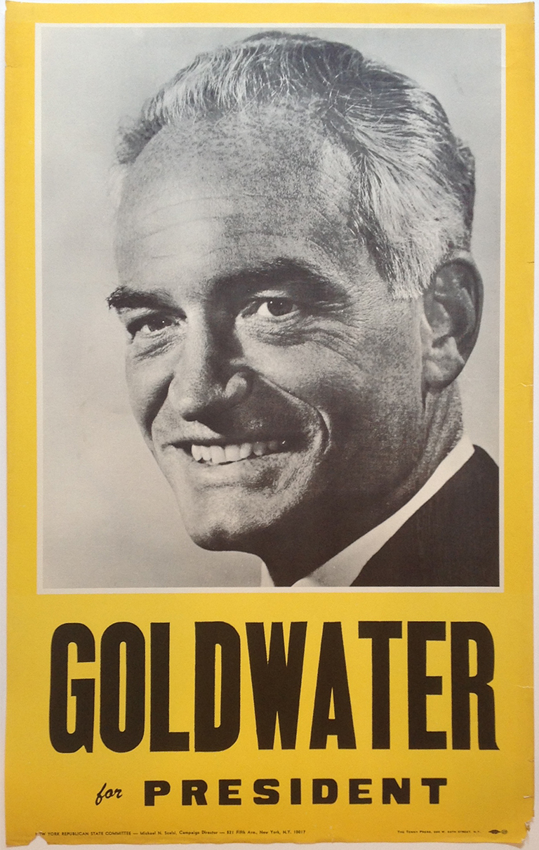 Poster #49 –  Goldwater for President