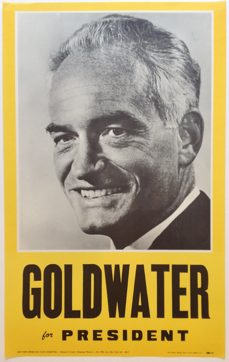 Poster #5 –  Goldwater for President