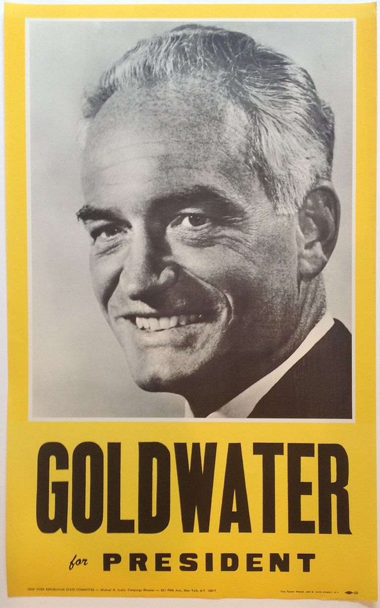 Poster #52 –  Goldwater for President