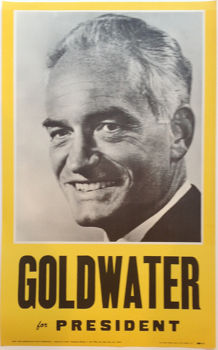 Poster #53 –  Goldwater for President