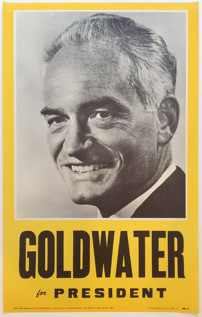 Poster #54 –  Goldwater for President