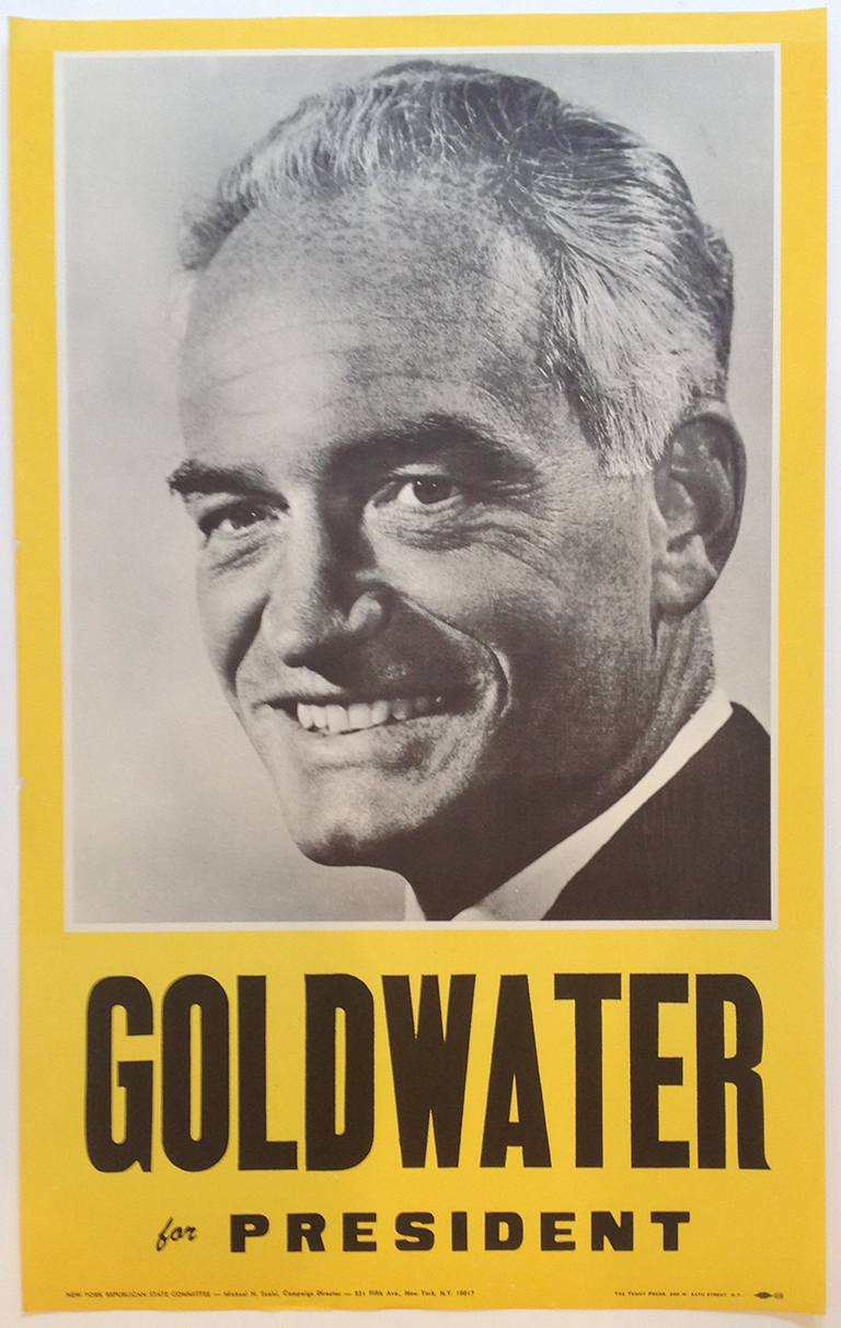 Poster #56 –  Goldwater for President