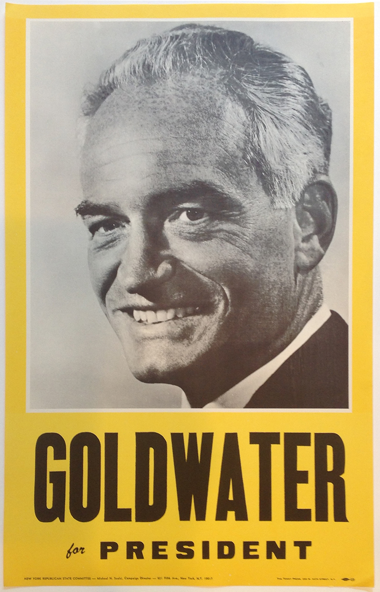 Poster #59 –  Goldwater for President