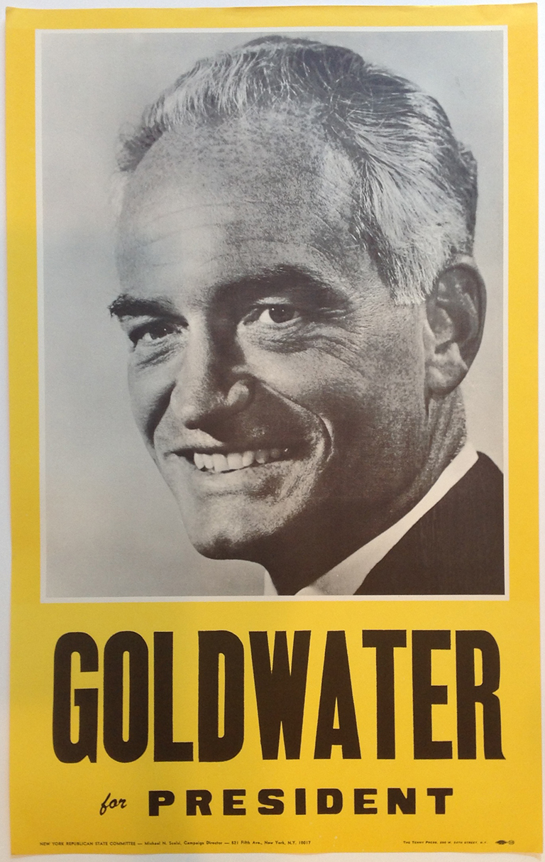 Poster #60 –  Goldwater for President