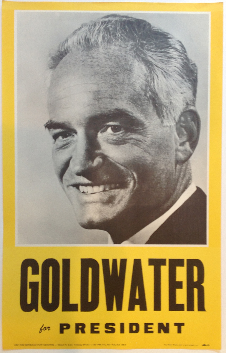 Poster #61 –  Goldwater for President