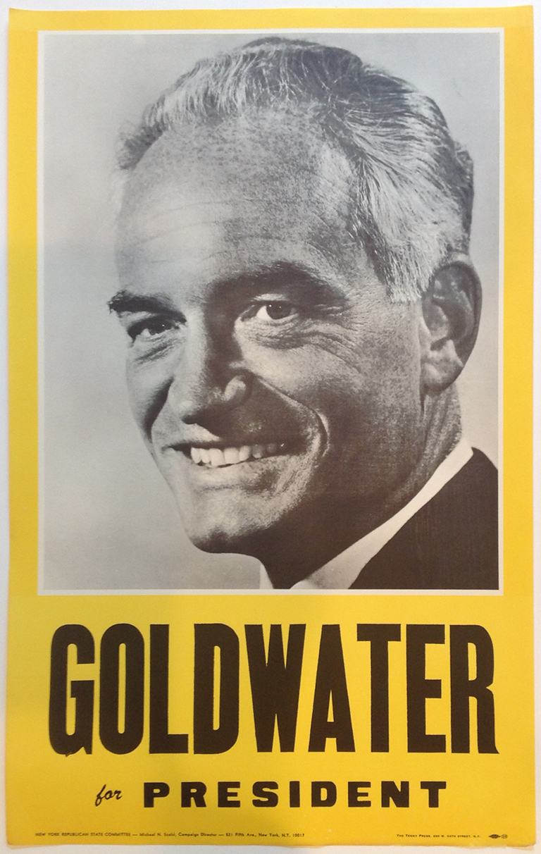 Poster #62 –  Goldwater for President