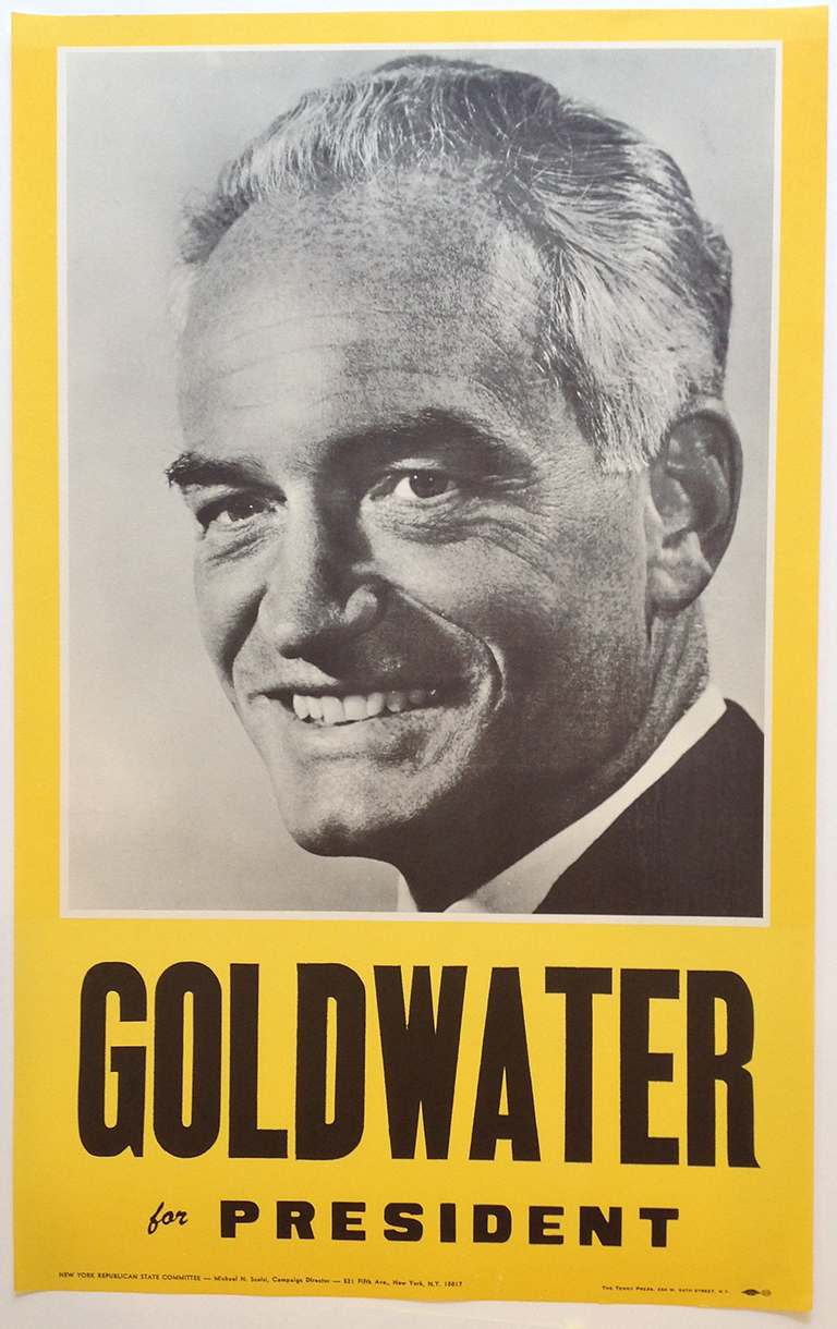 Poster #7 –  Goldwater for President