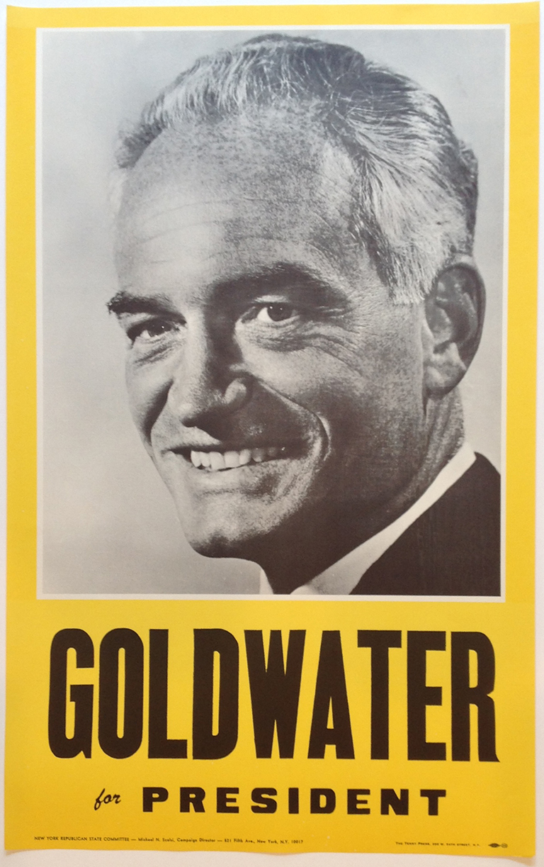 Poster #8 –  Goldwater for President
