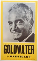 Poster #9 –  Goldwater for President